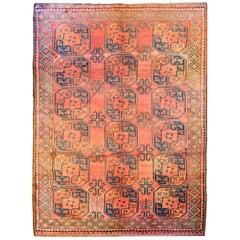 Early 20th Century Afghani Bashir Rug