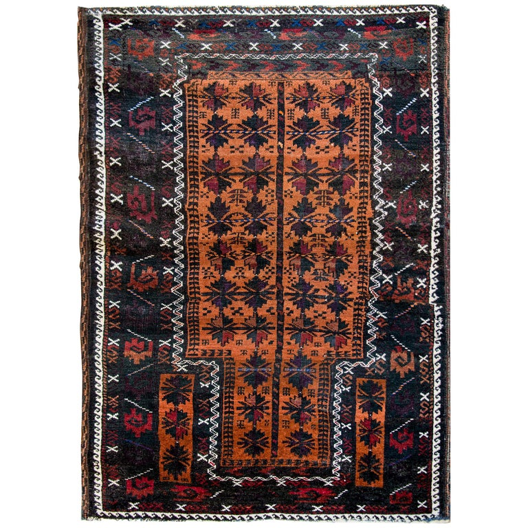 Beautiful Early 20th Century Baluch Prayer Rug For
