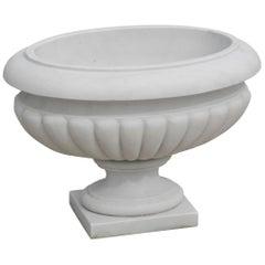 Hydria Vase in Crema Marfil Marble by Kreoo