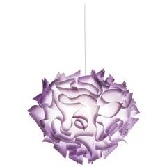 SLAMP Veli Medium Suspension Light in Plum by Adriano Rachele