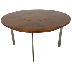 Midcentury Rosewood Dining Table by Merrow Associates
