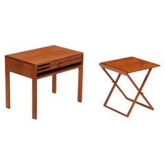 Teak Folding Tables by Illum Wikkelso