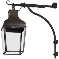 Tekna Montrose LED Wall Light with Dark Bronze Finish and Clear Glass