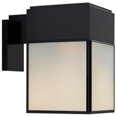 Tekna Brooklyn Wall Light with Black Lacquer Finish and Frosted Glass