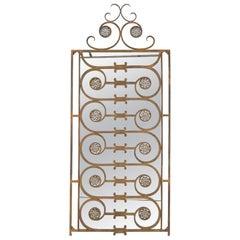 Decorative Wrought Iron Mirror