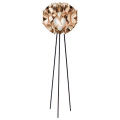 SLAMP Flora Floor Light in Copper by Zanini De Zanine