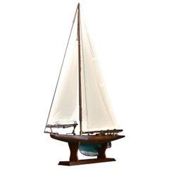 1920s Pond Yacht