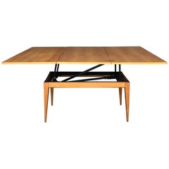 Industrial Extendable Table by Albert Ducros, 1950s