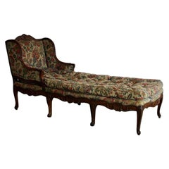 18th Century French Oversized Chaise Longue