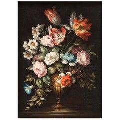 """Nature Morte de Fleurs"" Attributed to Jean-Baptiste Monnoyer"