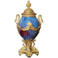 Chinese Vase on French Gilt Bronze Mount