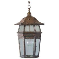 Arts & Crafts Hanging Lantern