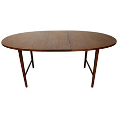 Mid-Century Modern Paul McCobb 'Components' Walnut Extendable Dining Table