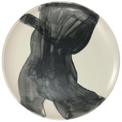 Homoerotic Ceramic Plate A, One of a Kind by Marc of Brooklyn