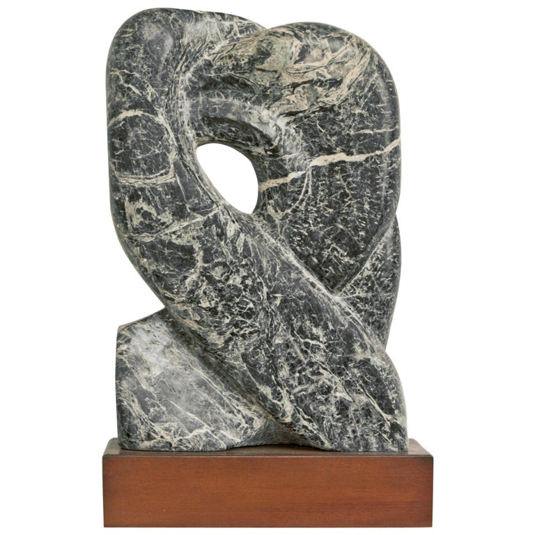 Modernist Marble Sculpture