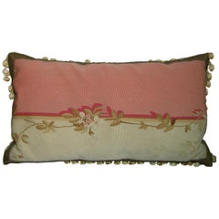 Antique French Tapestry Pillow, circa 1850