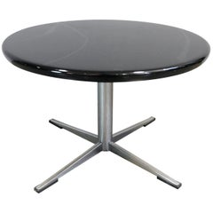 1960s Jacobsen Style Black Side Table