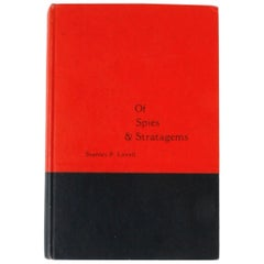 """Of Spies & Stratagems"" Signed First Edition Book by Stanley P. Lovell"