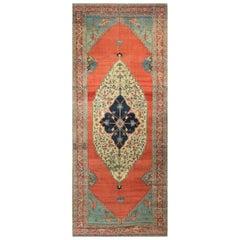 Antique Persian Serapi Rug Carpet, circa 1890