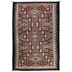 Vintage Navajo Rug, Ganado Trading Post, Early 20th Century