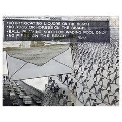 Vintage Robert Rauschenberg 'Envelope' Lithograph