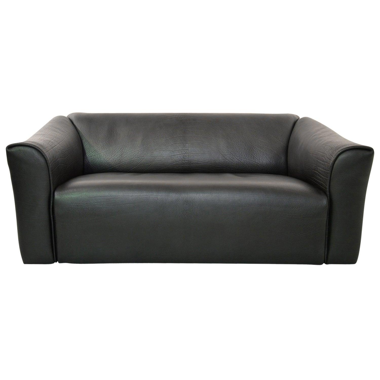 De Sede DS 47 Original Neck Leather Designer Sofa, Switzerland 1970`s