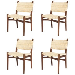 Set of Four Chairs by Hans J. Wegner