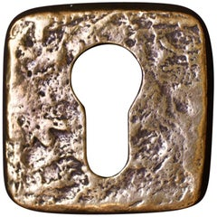 Vintage Escutcheon or Keyhole Plate, Europe, 1960s
