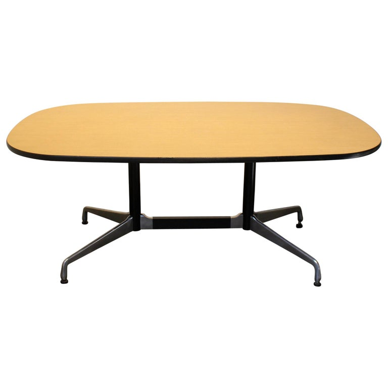 Ray and Charles Eames for Herman Miller Modern Dining Conference Table
