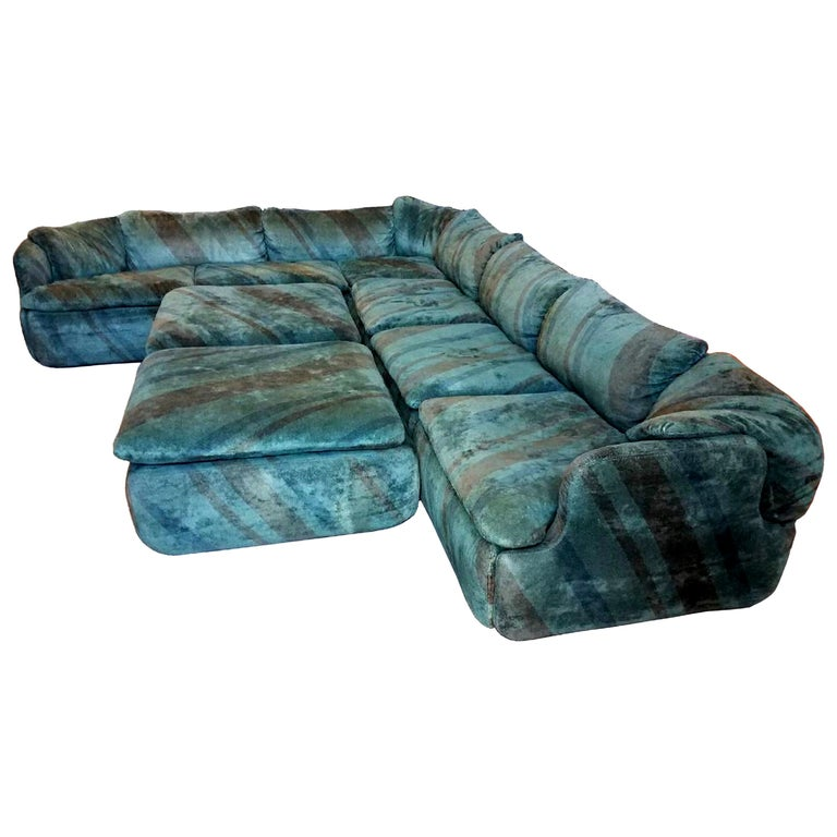 """Confidential"" Sectional Sofa by Alberto Rosselli"