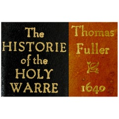 Historie of the Holy Warre by Thomas Fuller, 2nd Edition, circa 1640