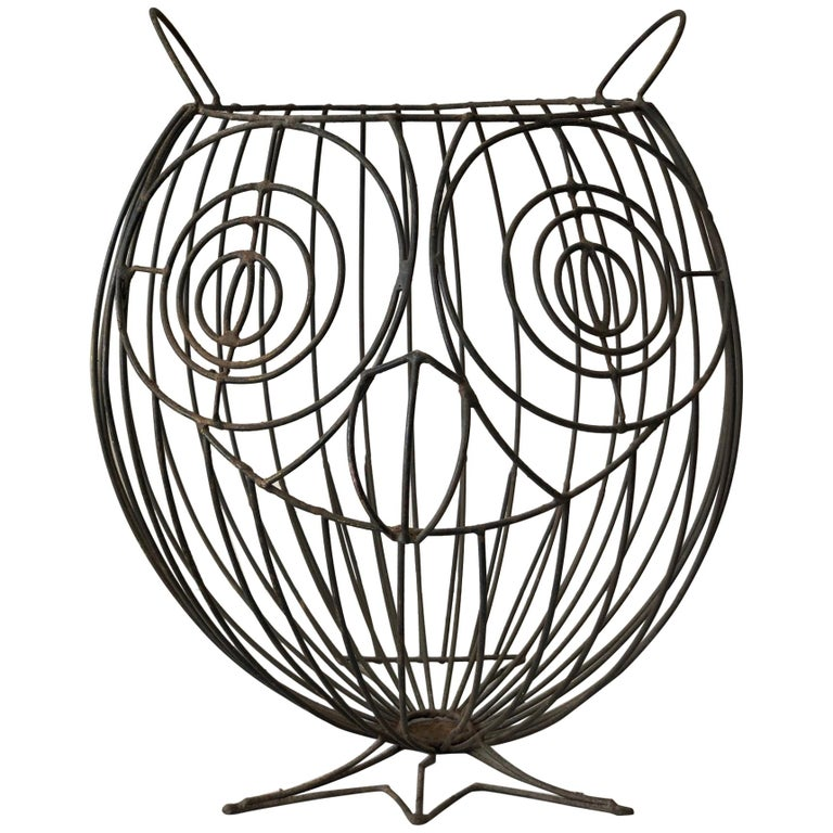John Risley Whimsical Owl Sculpture