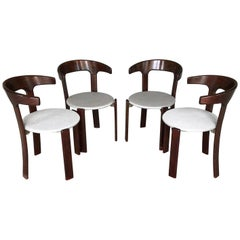 Special Edition of Bruno Ray's Armchairs for Kusch & Co, 1970s, Set of Four
