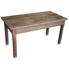 19th Century French Oak Desk
