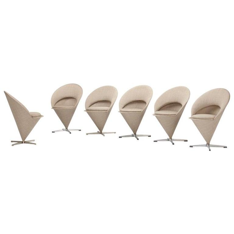 Verner Panton Cone Chairs