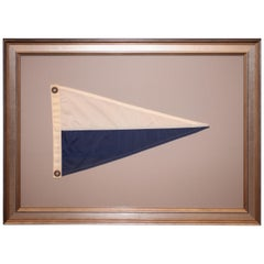 Framed NATO Pennant, Second Substitute Signal
