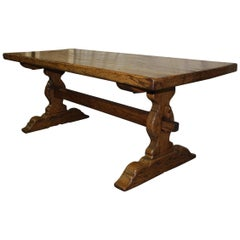 Sublime 19th Century French Monastery Table