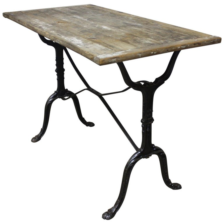 Charming French Bistro Table