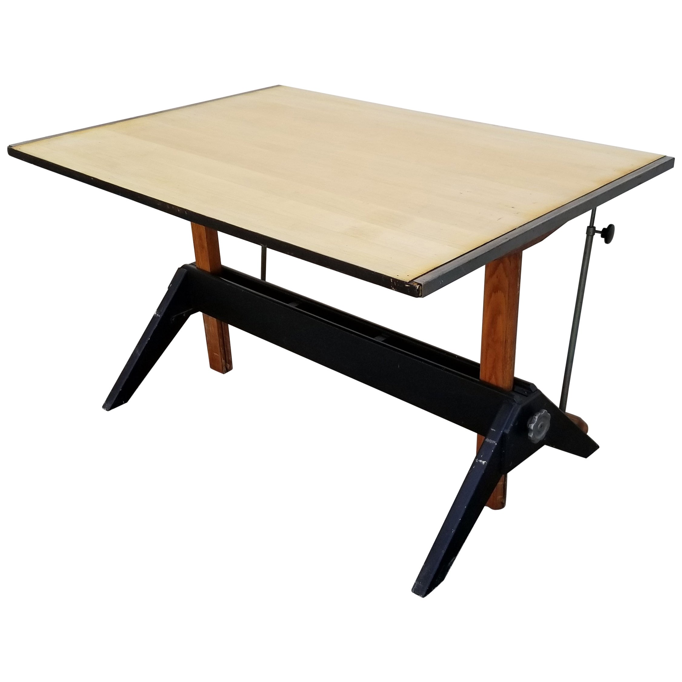 Charmant Industrial Modern Drafting Table By Mayline At 1stdibs