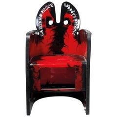 Gaetano Pesce Chair 'Nobody's Perfect' Collection for Zerodisegno