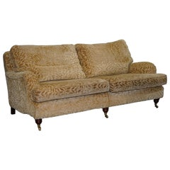 Stunning Multiyork Verona Howard Three-Seat Sofa Feather Cushions