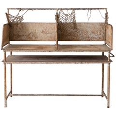 Early 20th Century American Iron Oyster Table