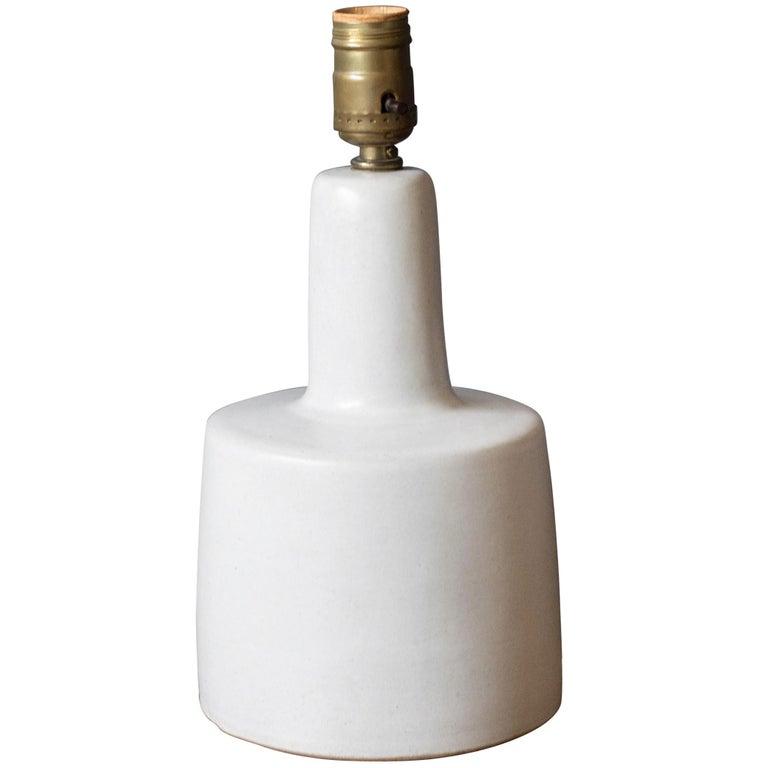 Mid-Century Modern Martz Pottery Lamp