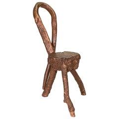 Rustic Twigwork Chair
