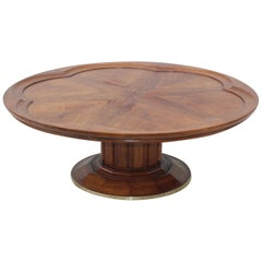 John Widdicomb Walnut Coffee Table