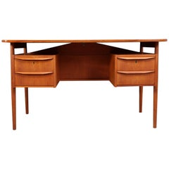 Teak Desk and Chair by Tibergaard, circa 1960