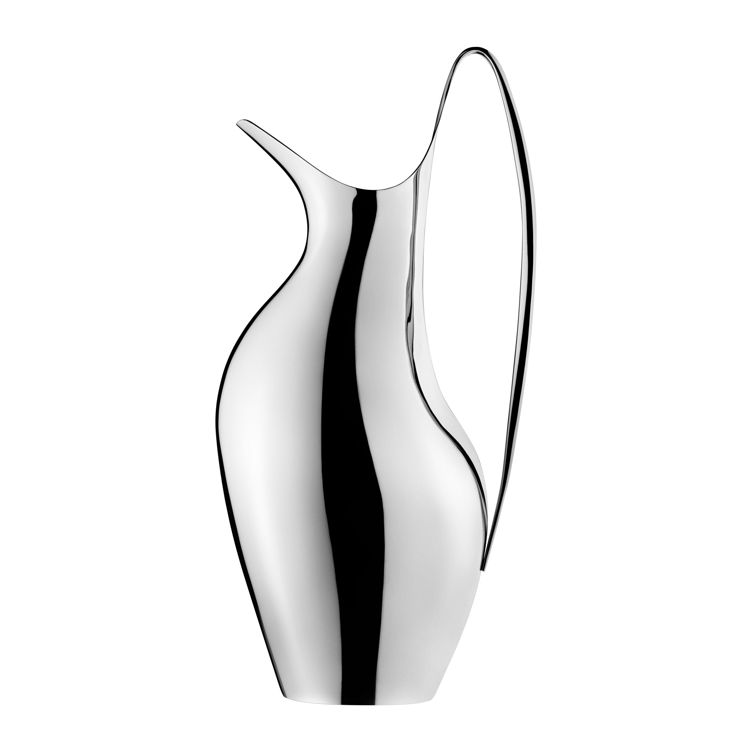 Georg Jensen HK Small Pitcher in Stainless Steel Mirror Finish by Henning Koppel