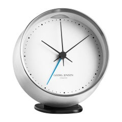 Georg Jensen HK Alarm in Steel and White by Henning Koppel