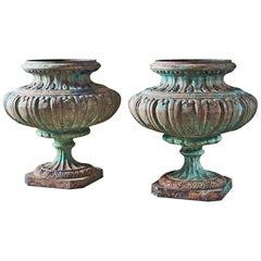 Grand Chateau Cast Iron Urns