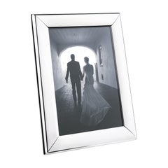 Modern Large Picture Frame in Stainless Steel Mirror Finish by Georg Jensen